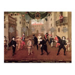 Cómicos italianos y franceses tarjeta postal