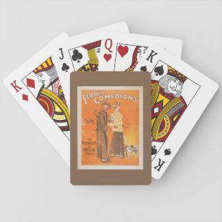 """Cómicos """"marcapasos de Ferris en los precios Barajas De Cartas"""