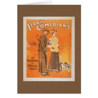 """Cómicos """"marcapasos de Ferris en los precios Tarjeta De Felicitación"""