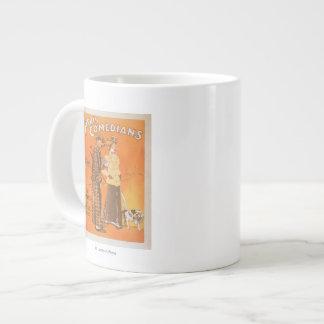 """Cómicos """"marcapasos de Ferris en los precios Taza De Café Gigante"""