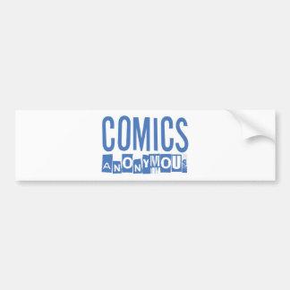 Comics Anonymous Merch Bumper Sticker