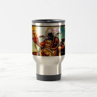 comics biker big travel mug