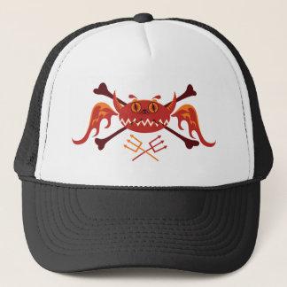 comics evil trucker hat
