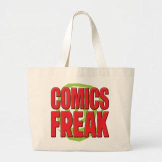 Comics Freak R Canvas Bags