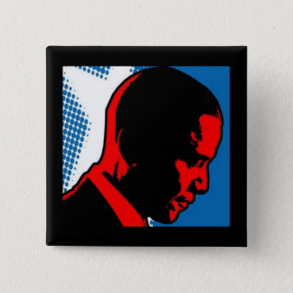 Comics Industry for Obama Button - Side Profile