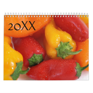 Comida 20XX Calendarios De Pared
