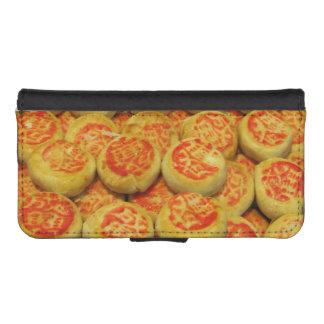Comida asiática de los postres de los dulces del ~ fundas billetera de iPhone 5