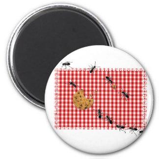 Comida campestre de la hormiga iman para frigorífico