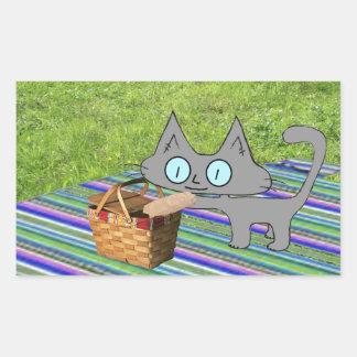 Comida campestre del gato