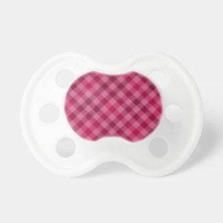 Comida campestre rosada en Plad - rosa fuerte Chupete