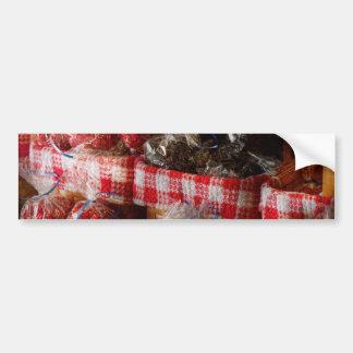 Comida - caramelo - mordeduras del regaliz pegatina de parachoque