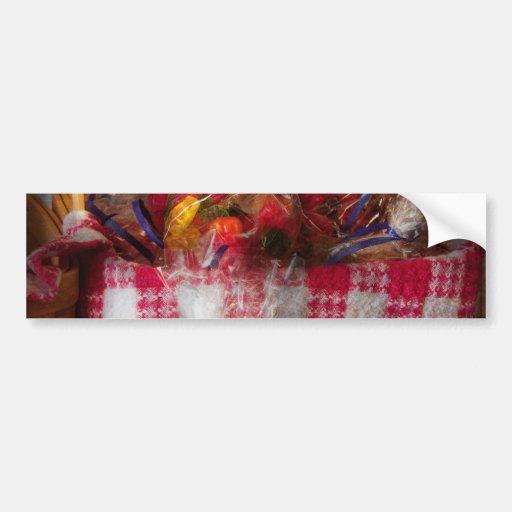 Comida - caramelo - osos gomosos para la venta etiqueta de parachoque