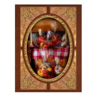 Comida - caramelo - osos gomosos para la venta postal