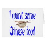 comida china felicitación