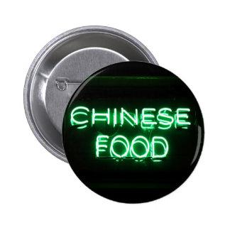COMIDA CHINA - señal de neón verde Pin