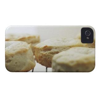 Comida, comida y bebida, galletas, mantequilla, pa Case-Mate iPhone 4 carcasa