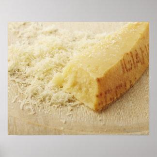 Comida comida y bebida queso parmesano rallado impresiones