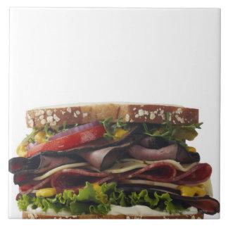 Comida, comida y bebida, trigo, pan, avena, Mayo,  Azulejo Cuadrado Grande