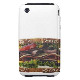 Comida, comida y bebida, trigo, pan, avena, Mayo, iPhone 3 Tough Cobertura