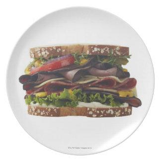 Comida, comida y bebida, trigo, pan, avena, Mayo, Plato De Cena