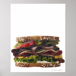 Comida, comida y bebida, trigo, pan, avena, Mayo,  Póster
