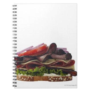 Comida, comida y bebida, trigo, pan, avena, Mayo, Spiral Notebook