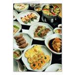 Comida coreana felicitacion
