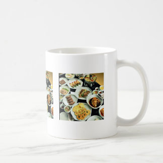 Comida coreana taza clásica