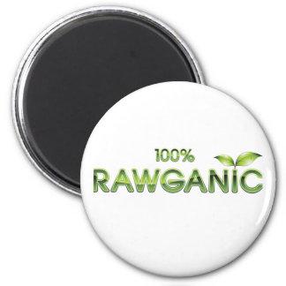 Comida cruda 100% de Rawganic Imán Redondo 5 Cm