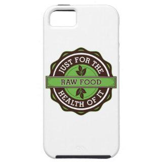 Comida cruda apenas para la salud de ella iPhone 5 Case-Mate funda
