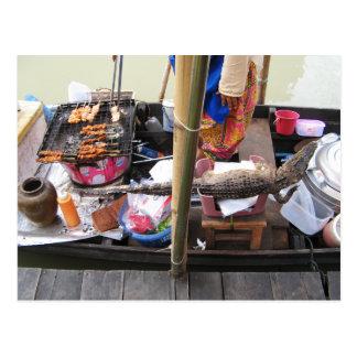 Comida de la calle del Bbq… Tailandia de la carne Postales