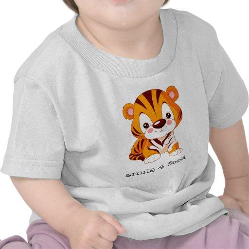 comida de la sonrisa 4 camisetas