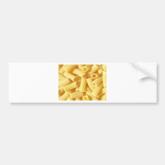 Comida de las pastas pegatina de parachoque