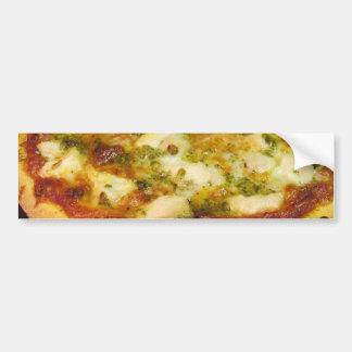 Comida de las pizzas que cocina el pollo pegatina de parachoque