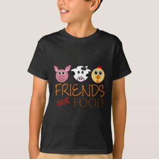 Comida de los amigos no playera
