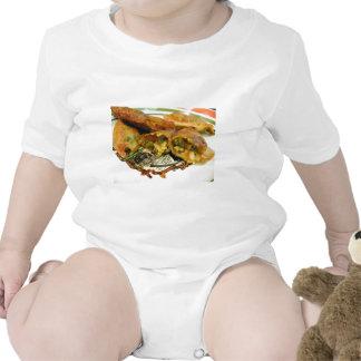 Comida de los Wontons Trajes De Bebé