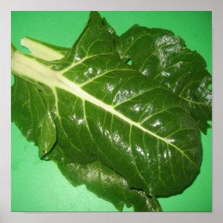 Comida de Spinach=Healthy Impresiones