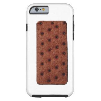Comida del bocadillo del helado funda de iPhone 6 tough