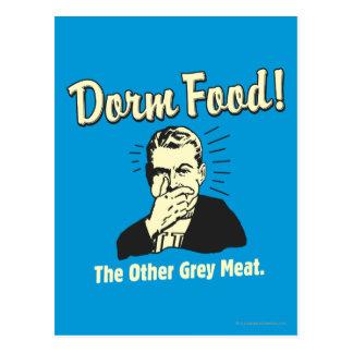 Comida del dormitorio: La otra carne gris Tarjetas Postales