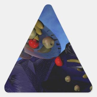 Comida del gods.png pegatina triangular