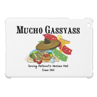 Comida del mexicano de Mucho Gassyass iPad Mini Fundas