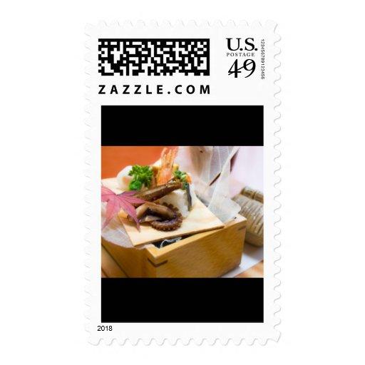 Comida del sello de Japón