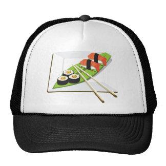 Comida del sushi gorro