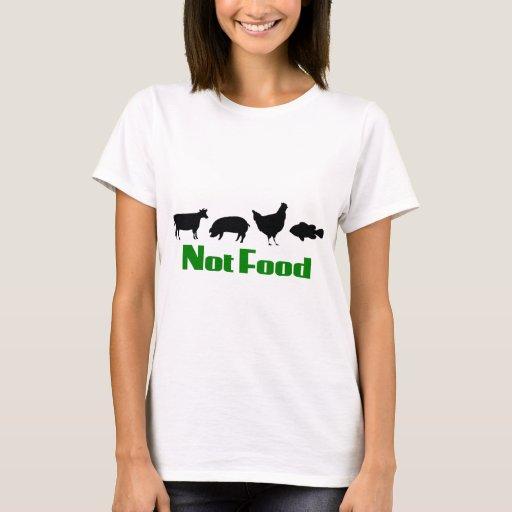 Comida del vegano/del vegetariano no playera