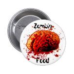 Comida del zombi pin