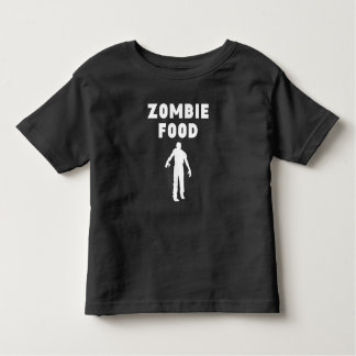 Comida del zombi playeras