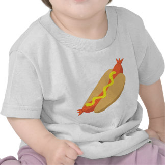 Comida deliciosa - perrito caliente camiseta