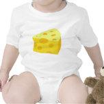 Comida deliciosa - queso traje de bebé