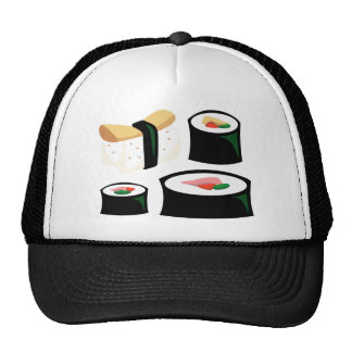 Comida deliciosa - sushi gorro
