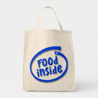 Comida dentro del bolso